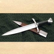 BEAUTIFUL MEDIEVAL DAGGER with scabbard (WS401760)