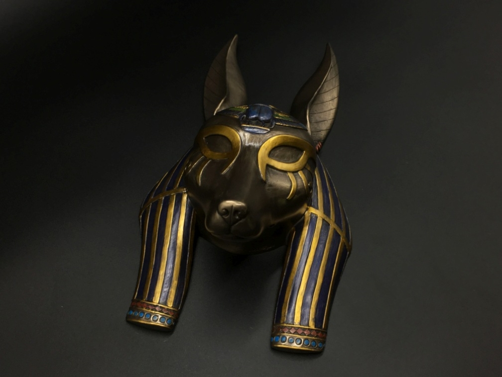 Mask of egyptian anubis god veronese (wu76417a4) (Code: 3767) - Special  Replicas Shop