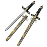 NICE RUSSIAN DAGGER SWORD with scabbard (SW-1266)